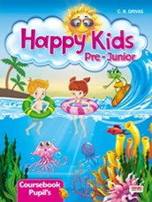 Happy Kids Pre – Junior Coursebook Pupil's