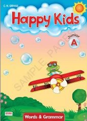 Happy Kids Junior A Words & Grammar