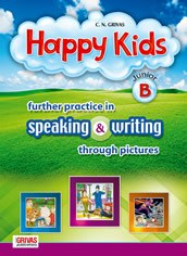 Happy Kids Junior B further practice in speaking & writing through pictures