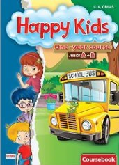Happy Kids Junior A+B One-year Course Coursebook