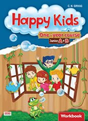 Happy Kids Junior A+B One-year Course Workbook