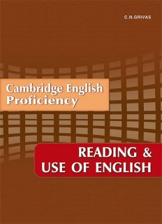 Reading & Use for the Cambridge English Proficiency