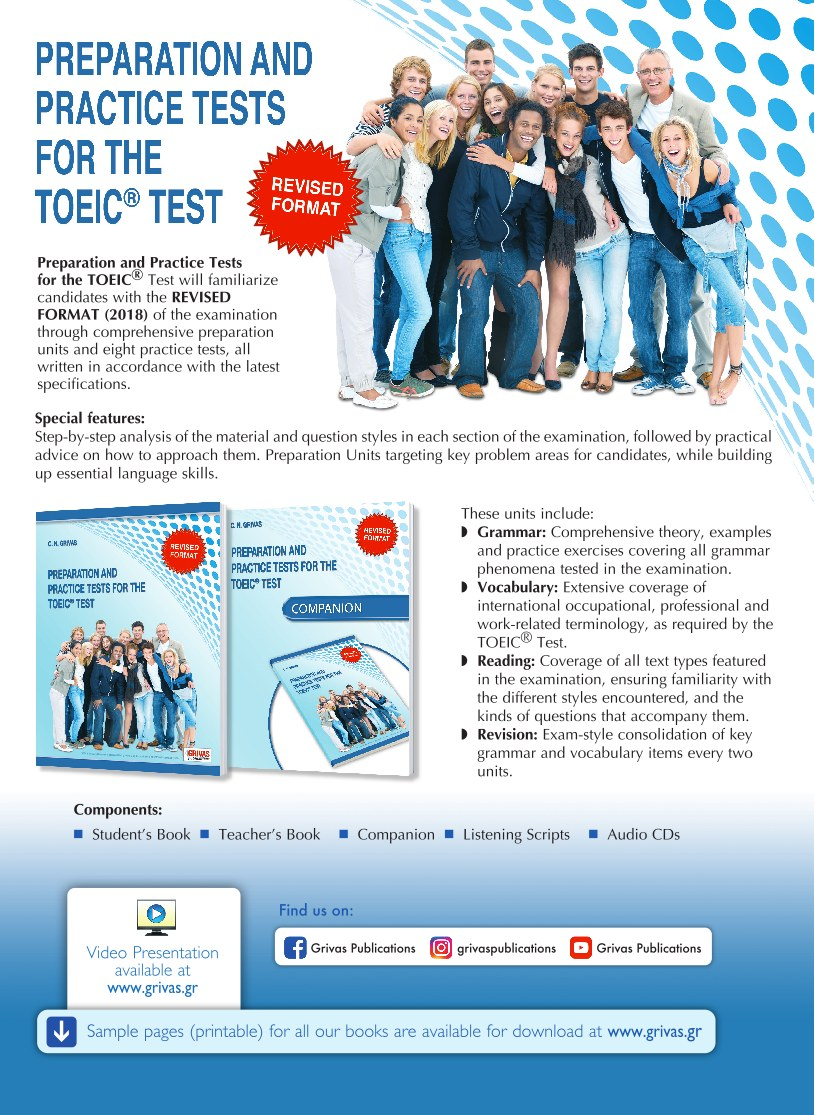 TOEIC TEST (REVISED FORMAT)