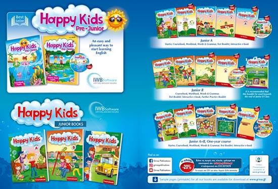 HAPPY KIDS Pre-Junior, Junior Books